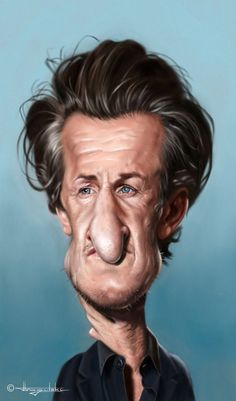 Celebrity Caricatures | Celebrity Caricatures by Patrick Strogulski | showme design
