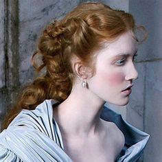 Renaissance Hair and Wedding Attire Renaissance Makeup, Renaissance Hairstyles, Historical Hairstyles, Renaissance Wedding, Hairdo Wedding, Wedding Attire, Wedding Hairstyles, Bridal Hairstyle, Wedding Dresses