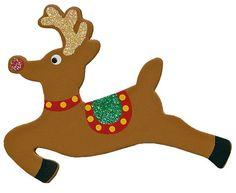 RENO PARA TRINEO Wooden Reindeer, Reno, Scooby Doo, Cartoon, Diy, Bulletin Board, Fictional Characters, Christmas Ideas, Google Search