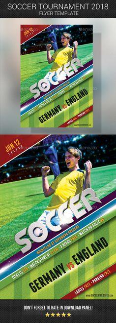 658 Best Soccer Flyer Template Images Sports Flyer Flyer Design