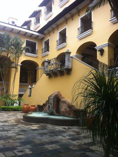 Beautiful hotel in Heredia Costa Rica.