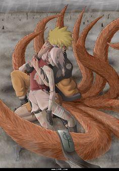 Naruto and sakura. I absolutely love this picture Naruto Uzumaki Shippuden, Naruto And Sasuke, Anime Naruto, Anime Sakura, Naruto Fan Art, Wallpaper Naruto Shippuden, Narusaku, Naruto Cute, Naruto Shippuden Sasuke