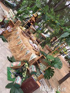 Βάπτιση με θέμα τη ζούγκλα!!! (jungle-safari-adventure) Προσκλητήριο-Μπομπονιέρα-Candy bar