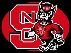 North Carolina State University Raleigh - Go Wolfpack! Nc State Basketball, Basketball Tickets, Basketball Teams, College Basketball, Basketball Court, North Carolina State Wolfpack, North Carolina Homes, Wolfpack Football, Football Usa