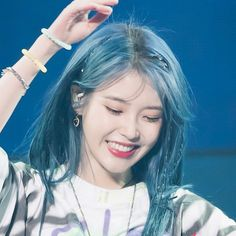 Blue Aesthetic, Aesthetic Photo, My Girl, Cool Girl, Snsd, Kpop Outfits, Ulzzang Girl, Blue Hair, Girl Crushes
