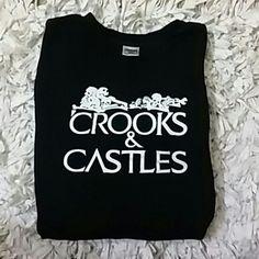 8206cfa26 Crooks and Castle Crew Sweatshirt Thick Crew Neck Sweatshirt NWOT Crooks  and Castle Tops Sweatshirts &