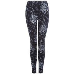 Dex Printed Leggings ($11) ❤ liked on Polyvore featuring pants, leggings, bottoms, calças, winter, wide-waistband leggings, legging pants and dex