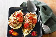 Cook up fast, flavoursome fare the Italian way with this stuffed eggplant favourite.