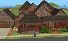 Mod The Sims - 1 Ocean View - Cheesy Suburban Living