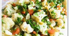 Eveeettt... Gün menümüze devam edelim :) Sağlıklı, besleyici, hafif ve lezzetli bir salata tarifi arıyorsanız, tam yerine geldiniz deme...