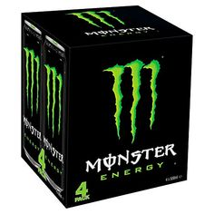 Monster Energy Drinks, Original, 16 Oz, Case Of 24 Cans Bebidas Energéticas Monster, Origin Energy, Coca Cola, Listerine Foot Soak, Cooler Box, Love Monster, Sports Drink, Morrisons, Graphic Prints