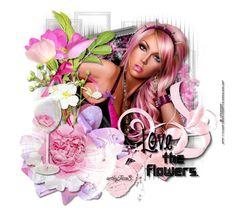 Love the Flowers 3d Girl, Fantasy Girl, Disney Characters, Fictional Characters, Disney Princess, Girls, Flowers, Art, Toddler Girls