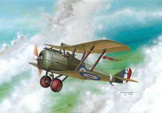 Авиация Первой Мировой от художника Seweryn Fleischer | War Wallpapers
