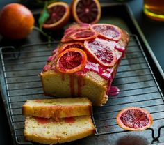 Whip up this Blood Orange Buttermilk Pound Cake for brunch.