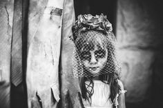 Pictures Of Husband And Daughter Dressed Up For A Spooky Halloween by Julie Peveto