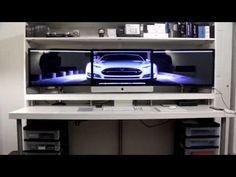 (618) How I Built My Desk (Ikea Desk Hack) - YouTube