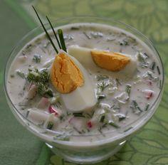 Chłodnik- Polish cold borsch