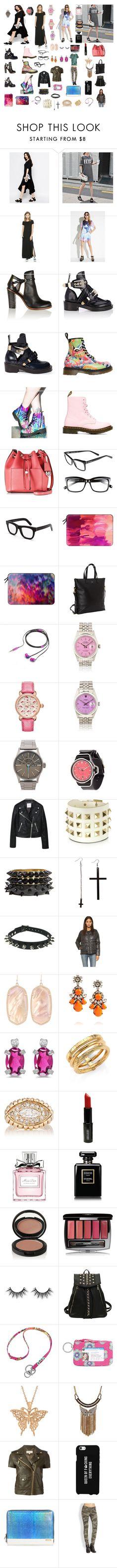 """Market day... Día en el mercado"" by gustavo-adolfo-coto on Polyvore featuring moda, Monki, The Closet, Wilt, Forever 21, MM6 Maison Margiela, Balenciaga, Dr. Martens, T.U.K. y Michael Kors"