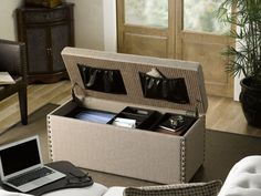 Win: Jonah Storage Office Ottoman Set by Bombay Holiday Giveaway (Value: $349.99)
