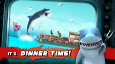 Yes it´s dinner time! Hungry shark on ios is rocking the house. You have a iphone? Then hungry shark evolution is a must have for you. Cell Phone Game, Phone Games, Shark Games, Truck Simulator, Best Pc Games, Android Hacks, Game Update, Free Gems, Hack Online