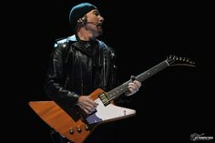 Madison Square Garden, NYC - eXPERIENCE + iNNOCENCE Tour (June 25, 2018) U2 Tour, Gibson Explorer, Madison Square Garden, Music Instruments, Guitar, Nyc, Tours, June, Photography