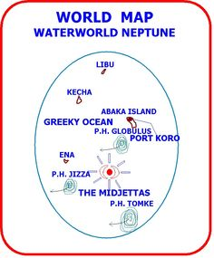 Waterworld Neptune Ca. 13,000 years ago.