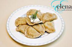 Handmade Vegan Cilantro Ravioli with Potatoes