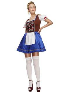 Women's Fever Dirndl Costume
