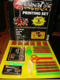 """ThunderCats"" printing set (maker unknown)"