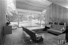 Found on Flickr;   Architect: Harry Weese  From: Houses Architects Design for Themselves