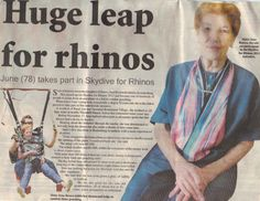 Rand Aid resident does it for the Rhinos