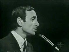 ✿ ❤ Perihan ❤ ✿ ♫ ♪ Charles Aznavour  - Il Faut Savoir (1962) (Live)