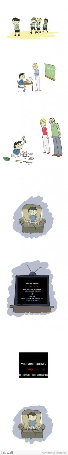 Truth about video games