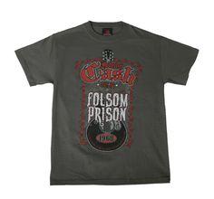 Johnny Cash at Folsom Prison T-Shirt Front