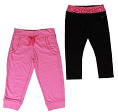 Vigoss Girls Yoga 2Piece Pant Set 10 BlackPink *** Details can be found by clicking on the image.  This link participates in Amazon Service LLC Associates Program, a program designed to let participant earn advertising fees by advertising and linking to Amazon.com.