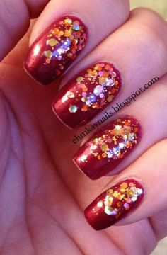 Crowstoes Her Goose Got Cooked  http://ehmkaynails.blogspot.com/2013/01/crowstoes-her-goose-got-cooked-reverse.html