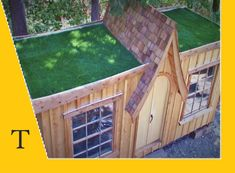 "Képtalálat a következőre: ""container with grass roof"""