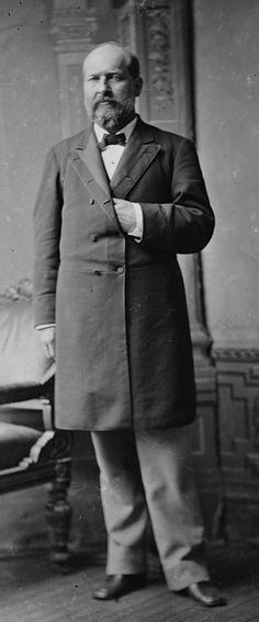 President James A. Garfield, President was considered a great orator. He could write in Latin with one hand while writing in Greek with the other hand. He was the second American President to be assassinated. American Presidents, Us Presidents, American History, 20th President, Current President, Presidential History, Head Of State, The Orator, Political Figures