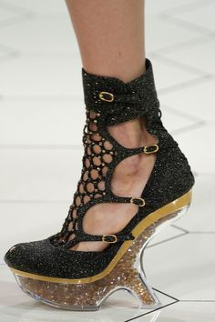 Alexander McQueen SS2013   I am just speechless looking at these amazing shoes!!!