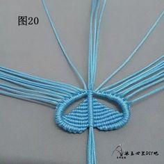 点击查看原图 Macrame Jewelry Tutorial, Free Macrame Patterns, Bracelet Patterns, Washer Necklace, Knots, Crochet Necklace, Butterfly, Bracelets, Handmade