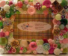 decorar_con_botones_portaretratos