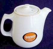 Hall China Restaurant Ware Sanka Instant Coffee Pot