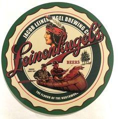 "Jacob Leinenkugel's Brewing Co. - 36"" Diameter Tin Sign - New - Free Shipping"