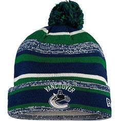 Vancouver Canucks Cuffed Knit Hats