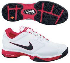 Nike Women's Lunar Speed 3 Maria Sharapova 2012 French Open Tennis Shoes...., my shoes :)