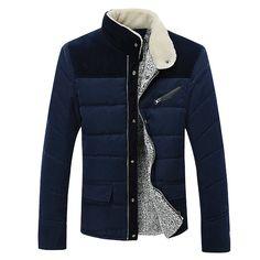 2015 новое поступление мужская зимняя куртка 100% хлопок свободного покроя тепловой верхняя одежда Большой размер высокое качество