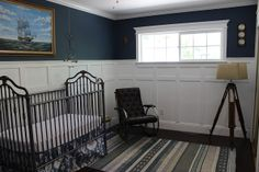 AWESOME BEFORE AND AFTER! Braylens Vintage Nursery In The New Home - Dream Book Design