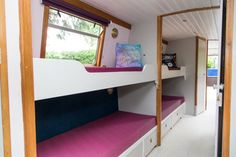 canal boat bunk beds - Google Search Narrow Boat, Canal Boat, Bunk Beds, Google Search, Furniture, Home Decor, Decoration Home, Loft Beds, Room Decor
