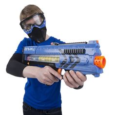 Buy Nerf Rival Zeus Mxv-1200 Blaster Online at Low Prices in India ...