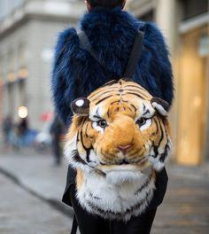 Tiger Backpack #pixiemarket